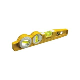 Stabila 25360 Die Cast Magnetic Torpedo with 360-Degree Vial + V-Groove Frame