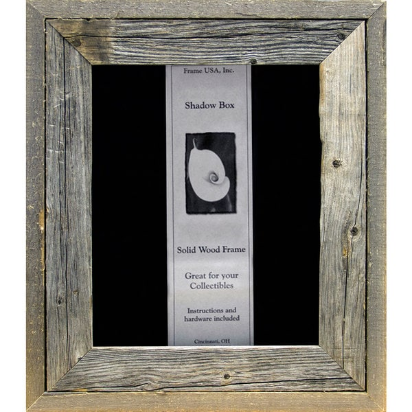 Barnwood Shadow Box (8 x 10)