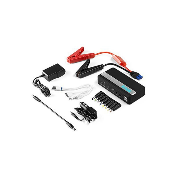 Knox Deluxe Power Bank 14000mAh Li-Polymer Car Jump Starter - Can Also Charge Laptops