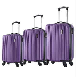 English Laundry 3-piece Polycarbonate Hardside Spinner Luggage Set