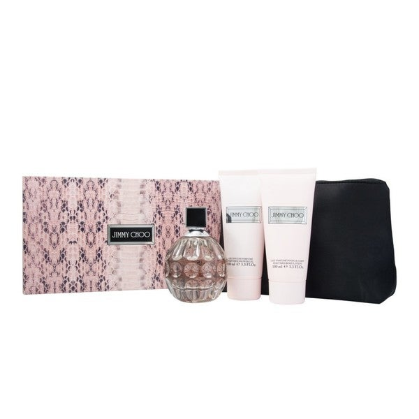 Jimmy Choo Women's 4-Piece Fragrance Gift Set