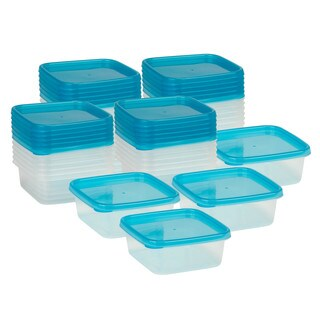 28pc square food storage set