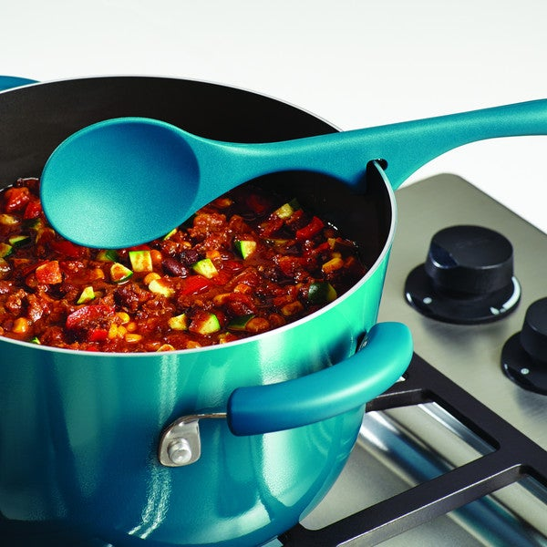Rachael Ray(r) Tools and Gadgets Lazy Solid Spoon, Marine Blue 17113800