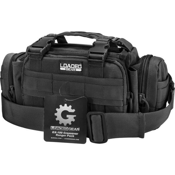 Barska Loaded Gear GX-100 Crossover Ranger Pack (Black)