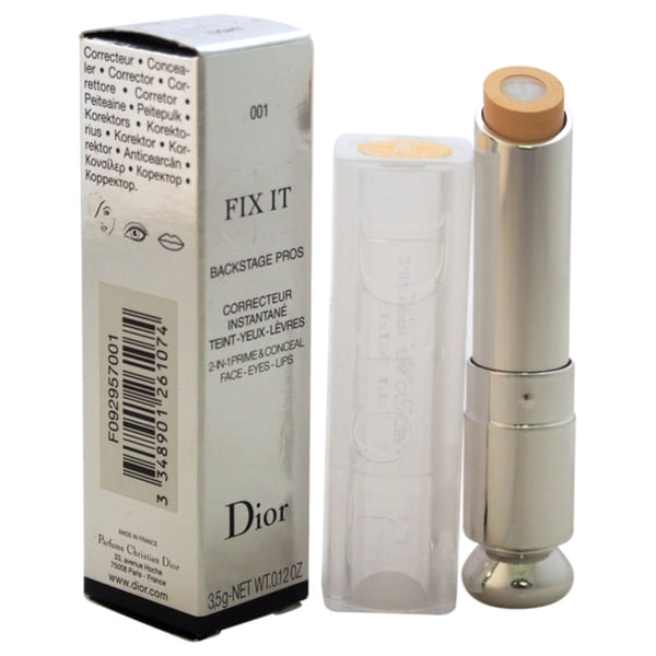 Dior Fix It 2-in-1 Prime & Conceal Face Eyes Lips # 001 Light