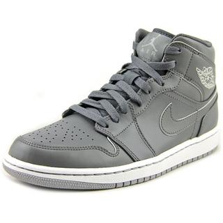 Jordan Men's 'Retro 1 Mid ' Leather Athletic