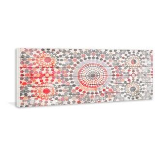 "Parvez Taj - ""Settat 3"" Painting Print on White Wood"