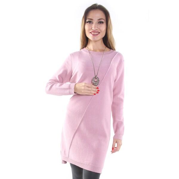 Hadari Women's Dusty Pink Pullover