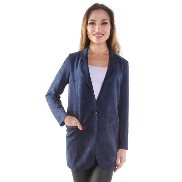 Hadari Women's 3/4 Length-Sleeved Blazer