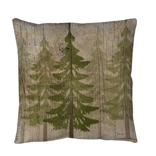 Thumbprintz Pines Throw or Floor Pillow
