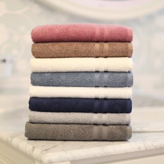Authentic Hotel and Spa Omni Turkish Cotton Terry Bath Towel (Set of 2)