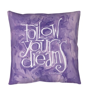 Throw Pillows Yes Or No : Thumbprintz Yes No Maybe Floor Pillow - 18088056 - Overstock.com Shopping - Great Deals on Throw ...