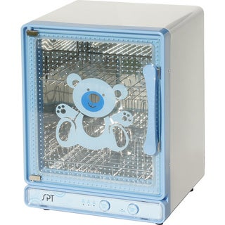 SPT Blue Baby Bottle Sterilizer and Dryer