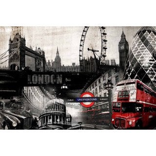 Selections by Chaumont London Collage Canvas
