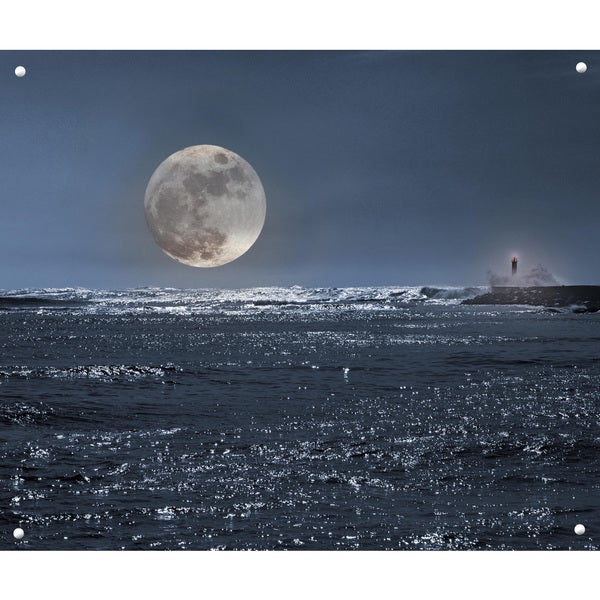 Selections by Chaumont Glass Art Full Moon