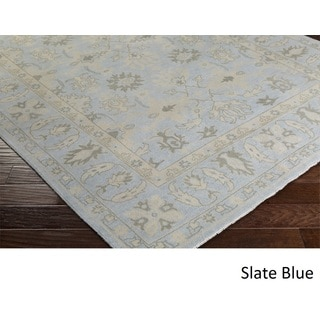Hand Knotted Asbury Wool Rug (6' x 9')