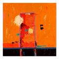 Gallery Direct Yellow No Print on Birchwood Wall Art