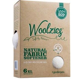 Set of 6 Woolzies Wool Dryer Balls/ Natural Fabric Softener