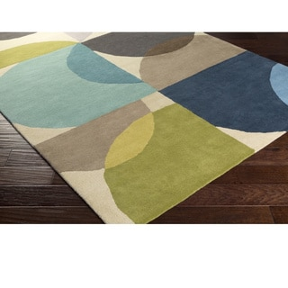 Scion : Hand Tufted Wolver Wool Rug (5' x 8')