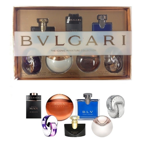 Bvlgaria Iconic Mini Fragrance 7-Piece Set