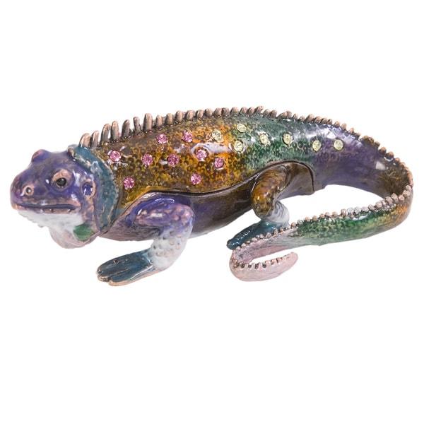 St. Thomas Iguana Trinket Box