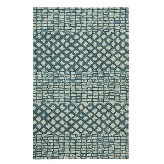 Hand Tufted Charisma-Mosaic Rectangle Rug (8' x 11')