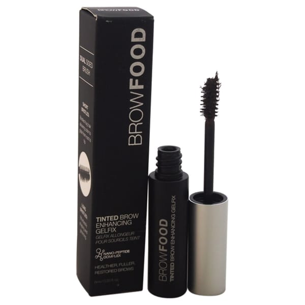 LashFood BrowFood Tinted Brow Enhancing Gelfix Dark Brunette