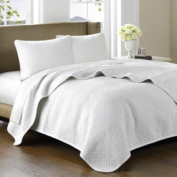 Hampton Hill Belville Luxury Cotton Coverlet Set