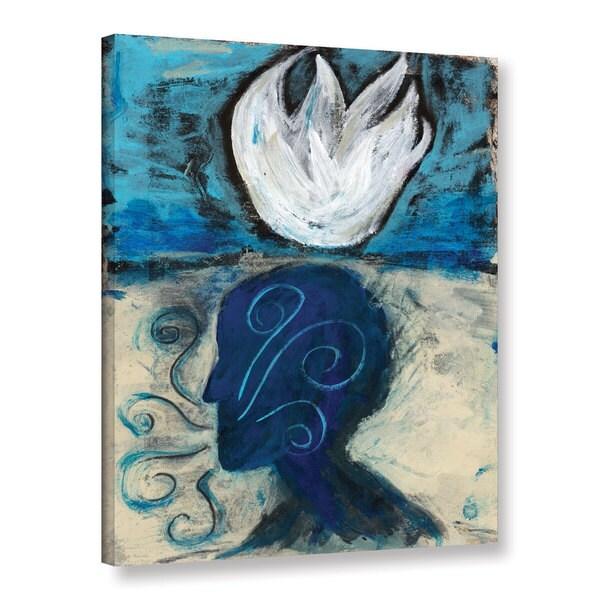 ArtWall Elena Ray 'Yoga Pranayama' Gallery-wrapped Canvas 17119964