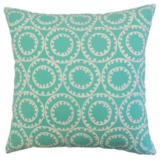 Abdiel Outdoor Down and Feather-filled 18-inch Throw Pillow