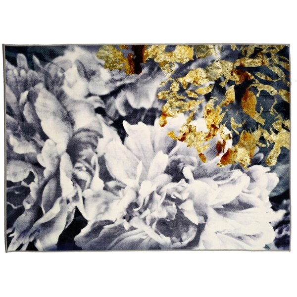 Oliver Gal' Dos Gardenias' Rug