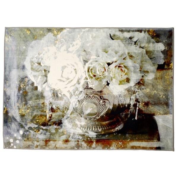 Oliver Gal' Serving Roses' Rug