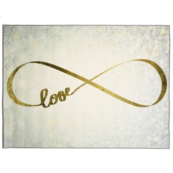 Oliver Gal' Sparkle Love' Rug