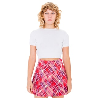 American Apparel Women's Printed Tennis Skirt