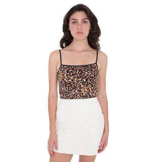 American Apparel Printed Disco Tank Top