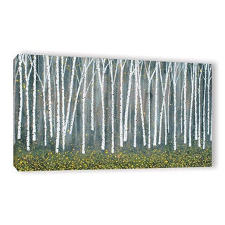 ArtWall Herb Dickinson's Aspen Abstract, Gallery Wrapped Canvas