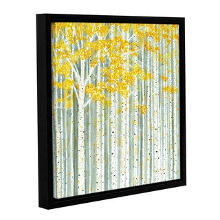 ArtWall Herb Dickinson's Aspen World, Gallery Wrapped Floater-framed Canvas