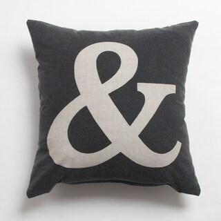 Theador Carcoal 20-inch Throw Pillow