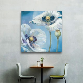 ArtWall Lisa Audit's Blue Dance II, Gallery Wrapped Canvas