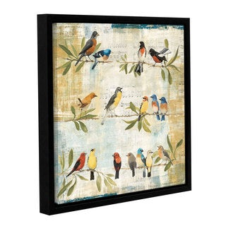 ArtWall Avery Tillmon's Adoration Of The Magpie, Gallery Wrapped Floater-framed Canvas