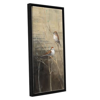 ArtWall Avery Tillmon's Sparrows At Dusk, Gallery Wrapped Floater-framed Canvas
