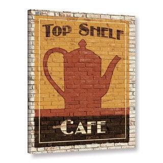 ArtWall Avery Tillmon's Top Shelf Café, Gallery Wrapped Canvas
