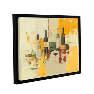 ArtWall Avery Tillmon's Contemporary Wine Tasting I, Gallery Wrapped Floater-framed Canvas