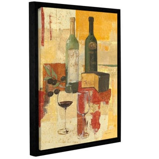 ArtWall Avery Tillmon's Contemporary Wine Tasting III, Gallery Wrapped Floater-framed Canvas