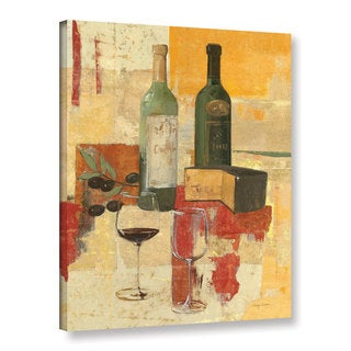 ArtWall Avery Tillmon's Contemporary Wine Tasting III, Gallery Wrapped Canvas