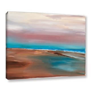 ArtWall Andrew Camp's Sandy Beach, Gallery Wrapped Canvas