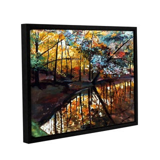 ArtWall Sylvia Shirilla's Elysium, Gallery Wrapped Floater-framed Canvas