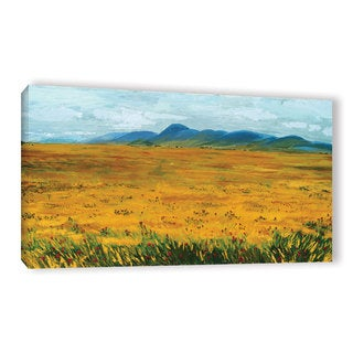 ArtWall Andrew Camp's Golden Prairies, Gallery Wrapped Canvas