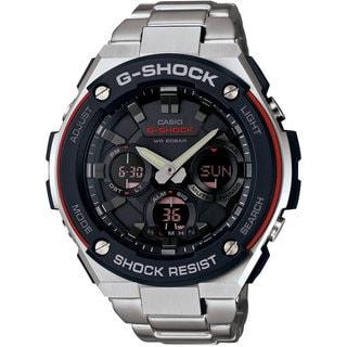 Casio GSTS100D-1A4 G-Steel Analog-Digital Stainless Steel Bracelet Men's Watch