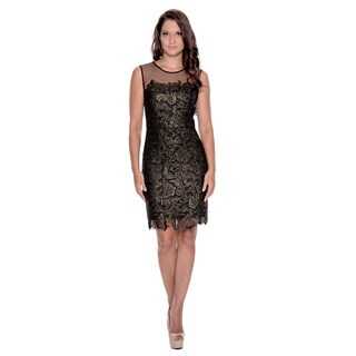 Decode 1.8 Women's Lace Cocktail Dress